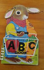 Golden ABC Book, a golden play and learn book, 1975 (12th  printing)