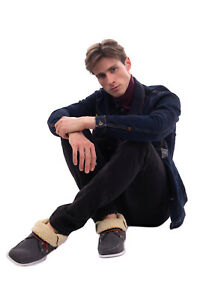 RRP €105 SUPERGA Felt & Faux Fur Deck Shoes Size 40 UK 6.5 US 7.5 Logo Details