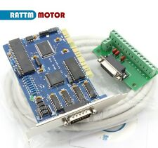 3 Axis Ncstudio PCI Motion Control Card Board with cable For CNC Router Machine