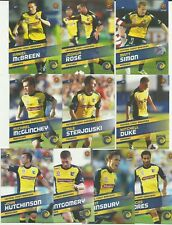 CENTRAL COAST MARINERS 2013/14 A-LEAGUE SELECT COMMON TEAM SET 10 CARDS SOCCER