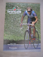 1980's Scott Tinley Race Bicycle Brancale Hawaii cycling shoes Triathlon Poster