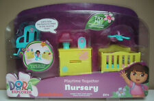 NURSERY - for Dora Playtime Together Dollhouse - Lights and Sounds - New in Pkg!