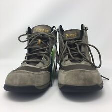Propet Mack Hiking Boots Gunsmoke Tan Green 9.5