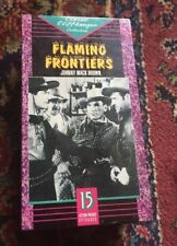 RARE Flaming Frontiers 1938 VHS western serial 15 episodes Johnny Mack Brown OOP