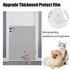 Dog Scratch Protector Pet Door Shield Wall Cover Cat Claw Pawing Furniture Clear