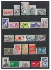 France - 1971/2, 24 x different stamps - F/U