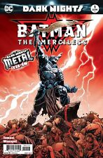 BATMAN THE MERCILESS 1 3rd PRINT VARIANT METAL TIE NM WHO LAUGHS PRE-SALE 1/24