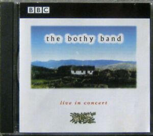 THE BOTHY BAND Live in Concert Paris 1976 Kilburn National 1978 irish folk CD