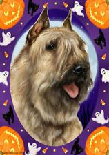 Bouvier Des Flandres Fawn Halloween Howls Flag