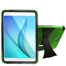 For Samsung Galaxy Tab A 9.7 Inch T550 TABLET Silicone + Hard Cover Case Green