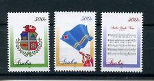 More details for aruba flags stamps 2016 mnh national symbols coat arms anthem heraldry 3v set