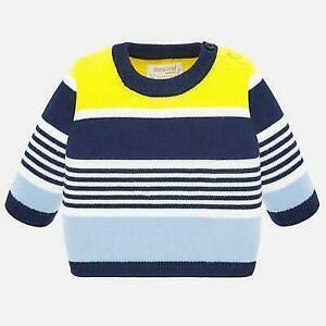 Mayoral baby boys stripe jumper various ages (1319)
