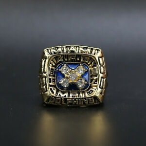 Dan Marino - 1984 Miami Dolphins AFC Championship Ring Size 11