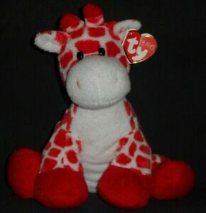 TY KISSER the GIRAFFE PLUFFIES - MINT with TAG - SEE PICS