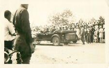 Governor F.D. Roosevelt NY Grand Opening Champlain Bridge Real Photo Postcard