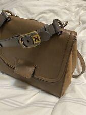 fendi silvana Two Tone Handbag