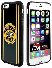 Cell Phone Case Cover for Apple iPhone 6 SUPER BEE Logo Stripes Black Yellow