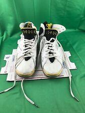 2005 Nike Air Jordan Retro VII 7 Womens Size US 13 White Yellow 313358-172
