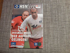 Programm Hamburger SV - Hannover 96 02/03
