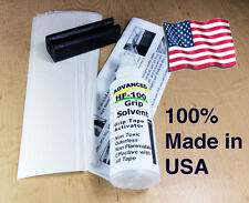 16 Tape Strips Brampton HF-100 Solvent Vise Clamp Instruction Golf Club grip Kit