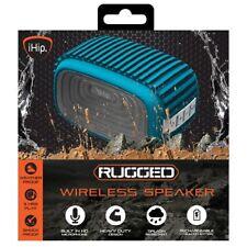 iHip rugged wireless bluetooth speaker blue