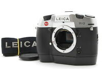 ✈️FEDEX 🔴NEAR MINT++🔴LEICA R8 35MM SLR FILM CAMERA SILVER BODY ONLY FROM JAPAN