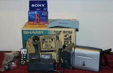 Sharp Viewcam VL-E760U 8mm Analog Camcorder Bundled