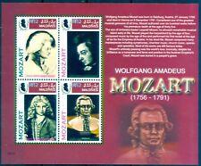 Malediven Maldives 2006 - Wolfgang Amadeus Mozart - 250. Geburtstag - Komponist