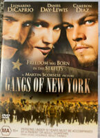 GANGS OF NEW YORK DVD