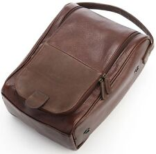 New KORCHMAR R1206 Black Leather Palmer Travel Shoe and/or Wine Bag $205