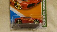 Hot Wheels 2012 Ferrari 430 Scuderia Treasure Hunt in package.