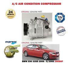 für BMW 335d 286bhp + Compact 2006- > AC Original Klimaanlage Kompressor