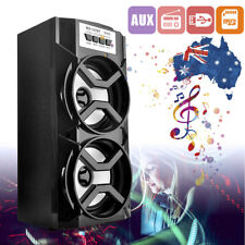 Portable Bluetoothle Wireless Stereo Speaker Super w/Bass USB/TF Radio Outdoor A