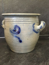 31350 Old French stoneware egg crock Alsace France 1900