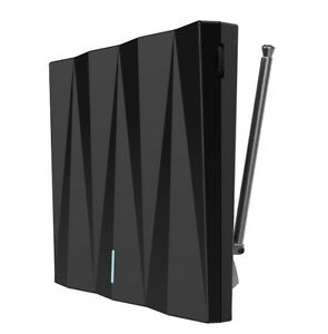 Greentek DTV-1 indoor Amplified Antenna for Digital HD Free TV country & metro