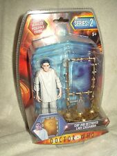 Doctor Who Action Figure  Series 2 Destroyed Lady Cassandra & Chip 6 inch