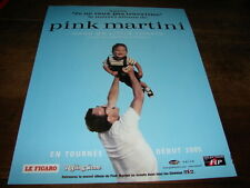 PINK MARTINI - PUBLICITE HANG ON LITTLE TOMATO !!!!!!!!