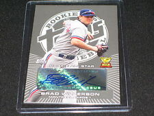 BRAD WILKERSON SIGNED AUTOGRAPHED TOPPS CERTIFIED AUTHENTIC BASEBALL ROOKIE CARD