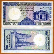 Sri Lanka / Ceylon, 50 Rupees, 1982, P-94, Ch. UNC > Foxing