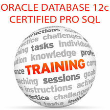 ORACLE DATABASE 12c CERTIFIED PRO SQL Foundations - Video Training Tutorial DVD