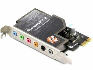 Asus C1BHK5 Supreme FX2 Soundmax AD1988B Chip Audio Board Pci-E x1 Sound Card