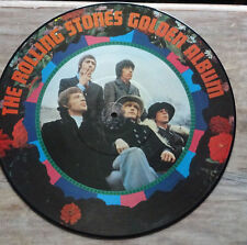 Rolling Stones Golden Album Picture LP