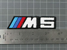 BMW M5 LOGO BADGE (M-POWER) CAR MOTORCYCLE BIKER RACING PATCH - MADE IN USA