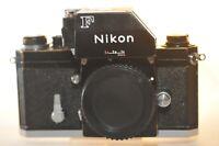 Nikon F Black Photomic FTN finder 35mm Film analog SLR camera body ONLY