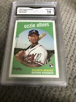 2018 Topps Archives RC #18 OZZIE ALBIES Atlanta Braves Graded 10 💎 Mint