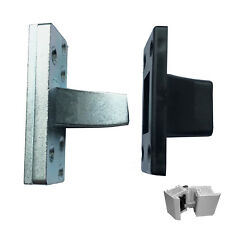 UPVC Door Hinge Bolt & Receiver Kit - Extra Protection Anti Jemmy Dog Bolt Claw