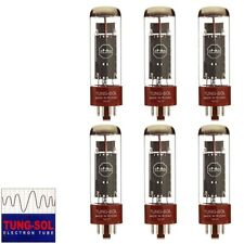 Brand New Tung-Sol Reissue EL34B Plate Vacuum Tubes - Matched Sextet