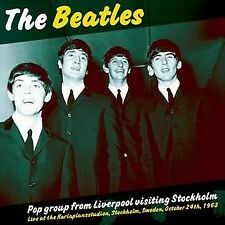 The Beatles - Pop Group From Liverpool Visiting Stockholm Live October 24th 1963