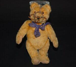 uralter blonder Steiff Teddybär mit Maulkorb * Höhe 20 cm * 30er/40er Jahre
