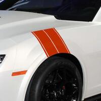 1* Auto Car Truck Fender Hash Stripe Racing Graphic Decal Sticker Set Universal